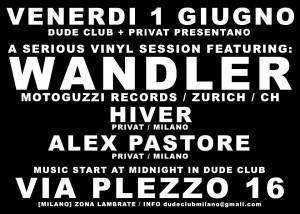 11 DUDE-CLUB - MILANO 01_06_2012 WANDLER _ HIVER _ ALEX PASTORE