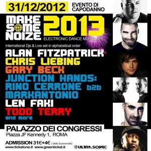 15 Roma - Palazzo dei Congressi 01_01_2013 Capodanno 2013 Make Some Noize