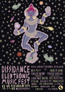 46 Dissidance Elektronic Music Fest Ecovillaggio in Emilia 18-19-20_07_2014