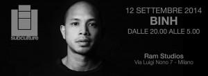 52 12 Settembre 2014 RAM Studios Milano BINH! *** SUBCULTURE ***