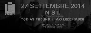 54 27.09.2014 SUBCULTURE TOBIAS FREUND & MAX LODERBAUER aka NSI