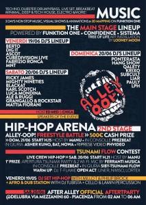 69 Alley oop! Piacenza Arena Daturi 19-20-21 Giugno 2015